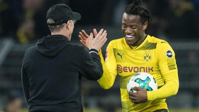 """3:2 gegen Frankfurt: Batshuayi bewahrt BVB vor weiterem Rückschlag: """"Magisch"""""""