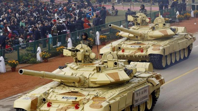 Sipri-Bericht: Mehr Waffenimporte in den Mittleren Osten und nach Indien