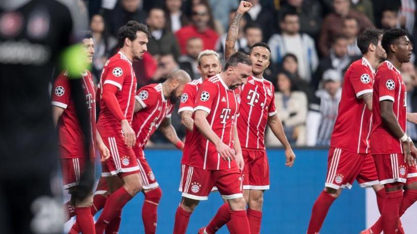 Champions League: Bayern mit Schönheitsfehlern ins Viertelfinale