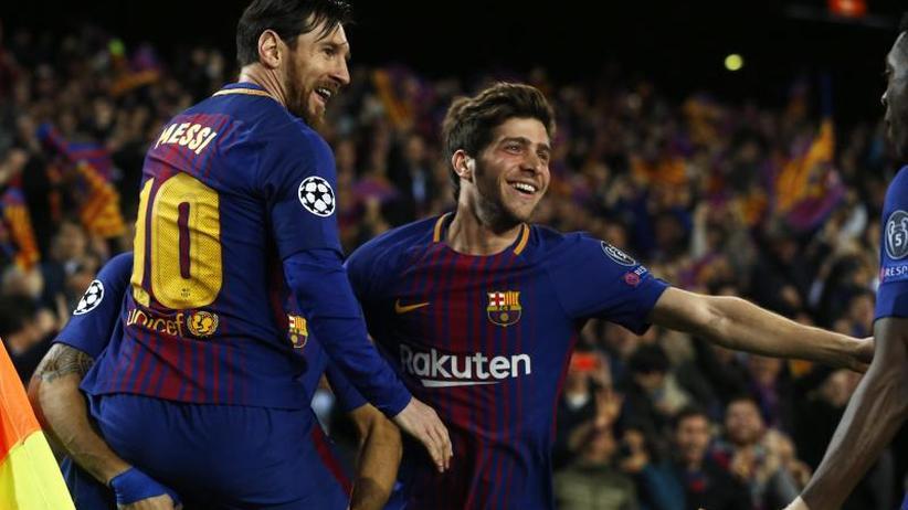 Champions League: FCBarcelona nach 3:0 gegen Chelsea im Viertelfinale