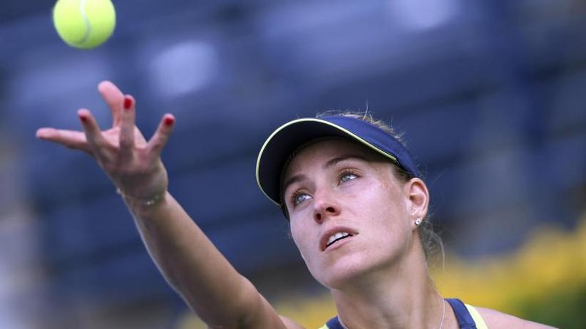 WTA-Turnier: Kerber im Viertelfinale beim Tennis-Turnier in Indian Wells