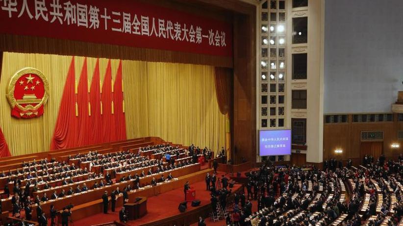 Videos gelöscht: Volkskongress: Chinas Zensoren gehen gegen Augenrollen vor