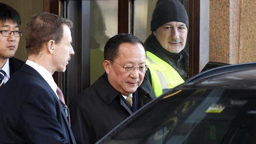 vorbereitung f r gipfel nordkoreanischer au enminister zu gespr chen in schweden zeit online. Black Bedroom Furniture Sets. Home Design Ideas