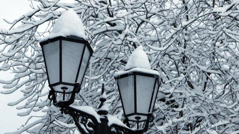 Minusgrade in Deutschland: Die Kälte ist zurück: Frost und Schnee vertreiben Frühling