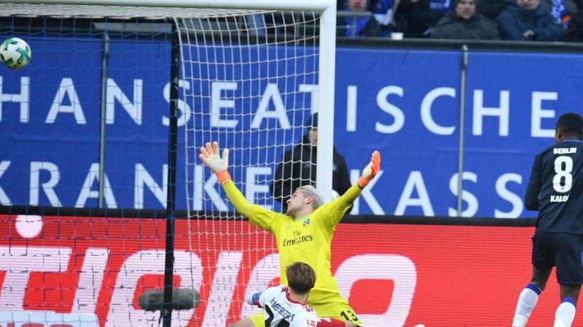 Abstiegskandidat: HSV verliert auch mit Neu-Trainer Titz: 1:2 gegen Hertha