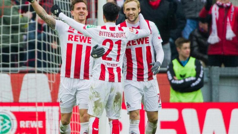 Bundesliga am Sonntag: 2:0 im Derby gegen Leverkusen - Köln schöpft neue Hoffnung