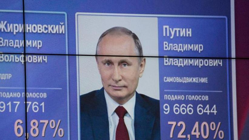 Amtsinhaber gewinnt deutlich: Putin geht gestärkt aus Präsidentenwahl hervor