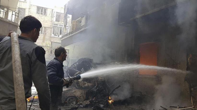 Dramatische humanitäre Lage: Dutzende Tote beiAngriffen in Syrien
