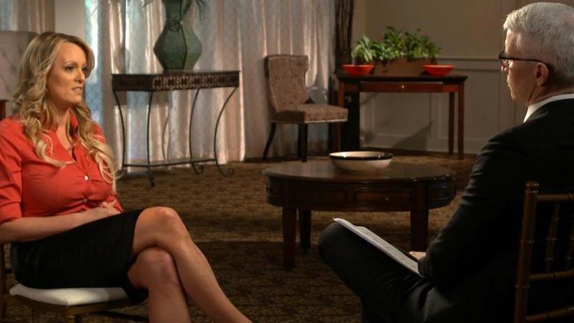 TV-Interview: Schlammschlacht um Trump und Stormy Daniels wird intensiver