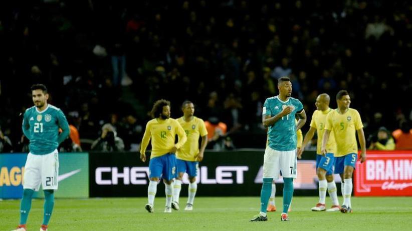 WM-Testspiel: Brasilien verhindert Rekord: DFB-Team unterliegt 0:1