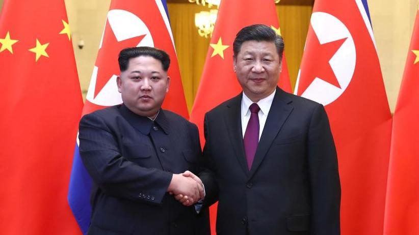 Besuch in China: Kim Jong Un bekräftigt Willen zur Beseitigung der Atomwaffen