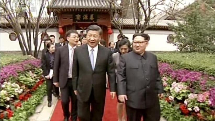 Analyse: Kim sucht Schützenhilfe bei Xi