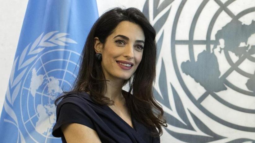 In Myanmar: Amal Clooney übernimmt Mandat für Journalisten