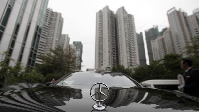 Anstieg um 17,2 Prozent: Daimler profitiert besonders von Mercedes-Verkäufen in China