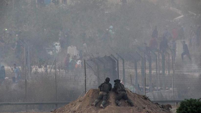 Unruhen eskalieren: Neun Tote und 1354 Verletzte bei Protesten an Gaza-Grenze