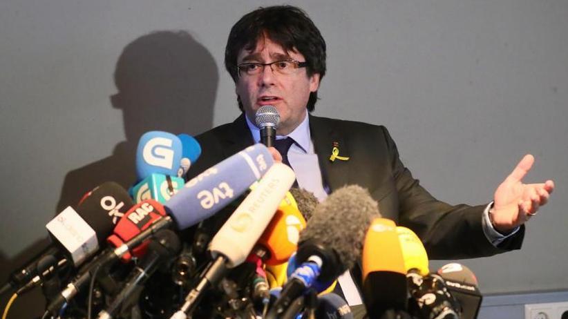 Carles Puigdemont: Der ungebetene Staatsgast