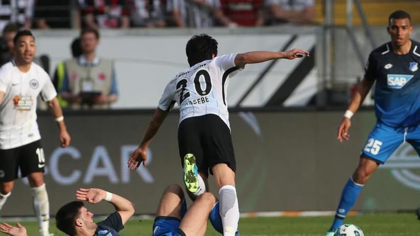 29. Spieltag: 1:1 im Europacup-Rennen: Frankfurt bleibt vor Hoffenheim
