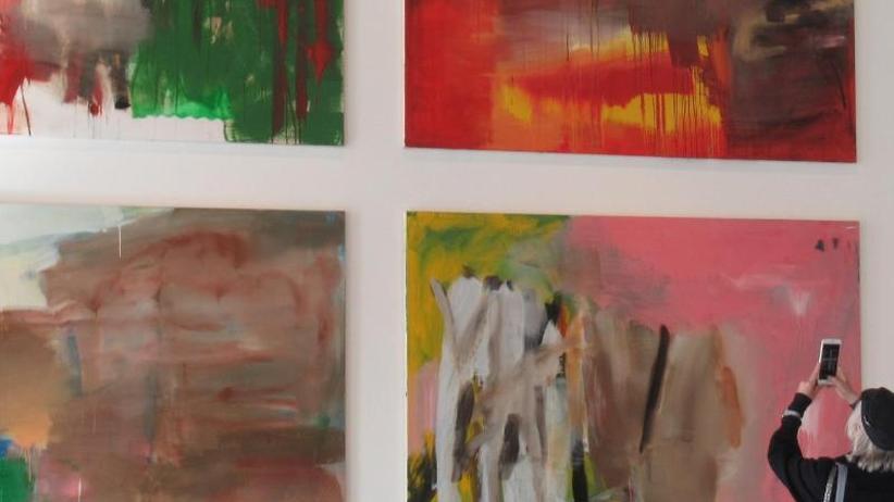 Gesamtwerk: Albert Oehlen in Venedig: Bisher größte Schau in Italien