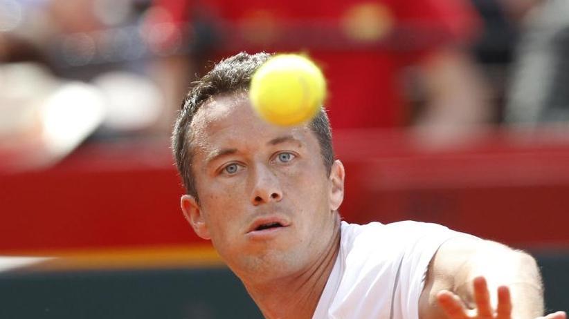Kohlschreiber unterliegt: Davis Cup: Deutsches Tennis-Team verliert
