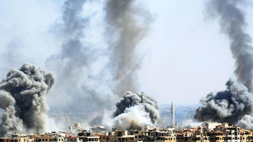 Krieg in Syrien: Dutzende Tote bei mutmaßlichem Giftgasangriff auf Ost-Ghuta