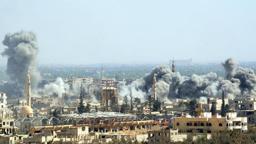 "Giftgasangriff in Syrien: Frankreich ""extrem"" besorgt über Angriffe auf Ost-Ghuta"