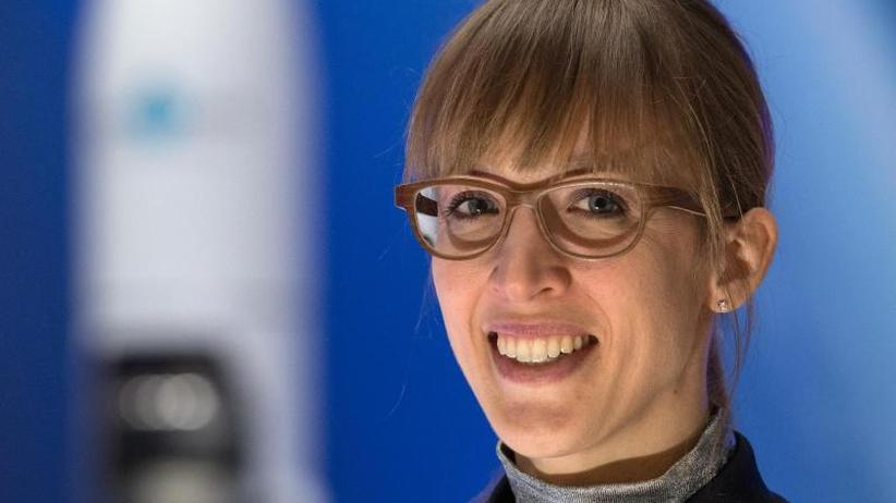 Hoch zu den Sternen: Insa Thiele-Eich glaubt an Außerirdische