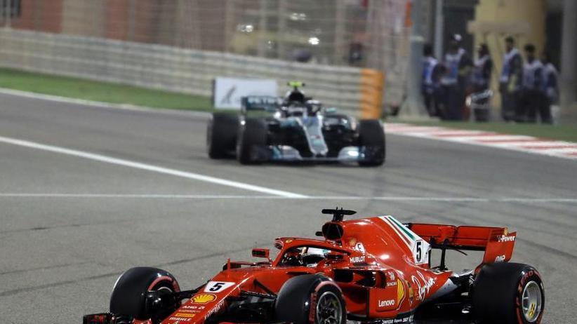 Großer Preis von Bahrain: Wüsten-König Vettel: Sorge um Mechaniker trübt Zittersieg