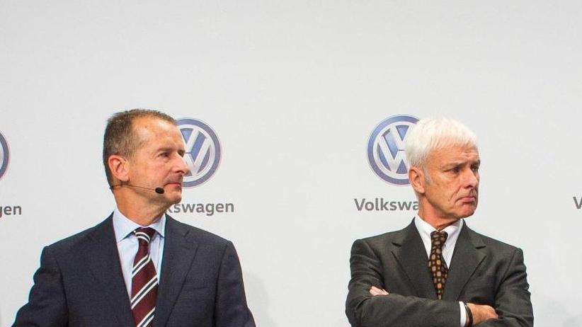 Überraschender Führungswechsel: VW-Chef Müller soll für Kernmarken-Chef Diess Platz machen