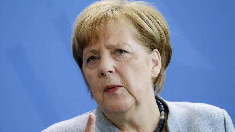 Luftschläge gegenSyrien: Merkel: Militäreinsatz erforderlich und angemessen