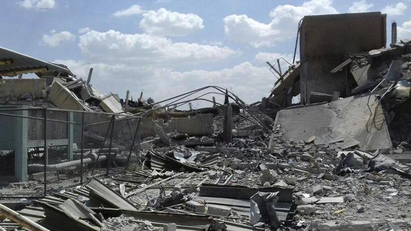 Moskau droht mit Konsequenzen: USA und Allierte werten Angriffe in Syrien als vollen Erfolg