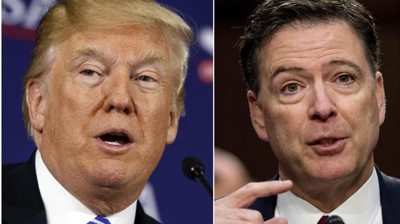 """Comey im Interview: Ex-FBI-Chef: Trump """"moralisch ungeeignet"""" für Präsidentenamt"""