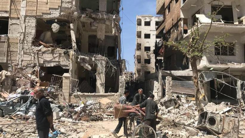 Streit um Giftgas-Ermittlungen: OPCW: Russland und Syrien lassen Experten nicht nach Duma