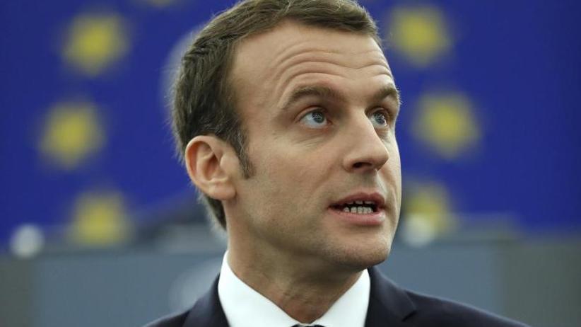Dokumentation: Auszüge aus Emmanuel Macrons Rede vor dem EU-Parlament