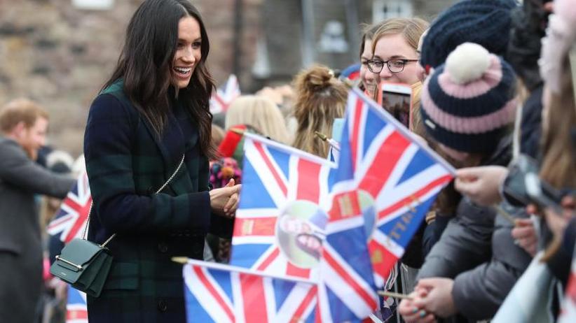 Britische Royals: Meghan Markle und die Briten: Rassismus trübt Hochzeitspläne