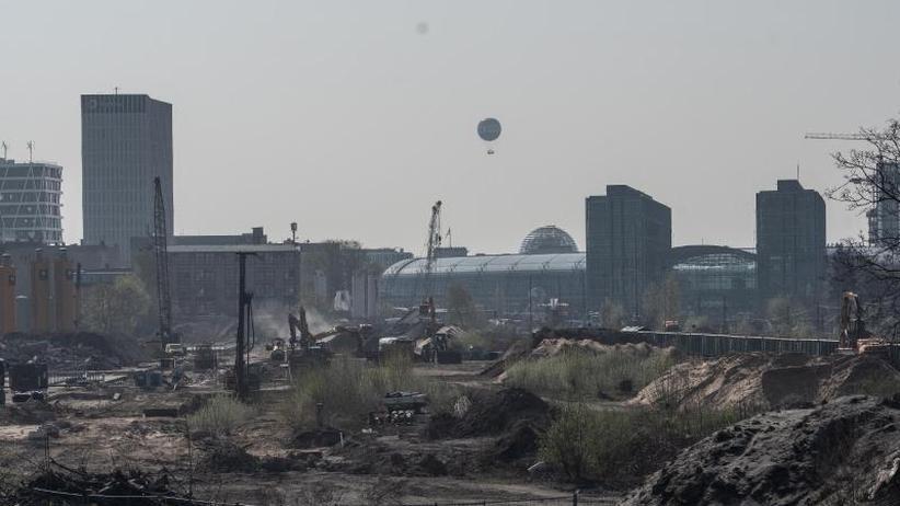 In der Nähe des Hauptbahnhofs: Weltkriegsbombe entdeckt: Berlin droht Verkehrschaos