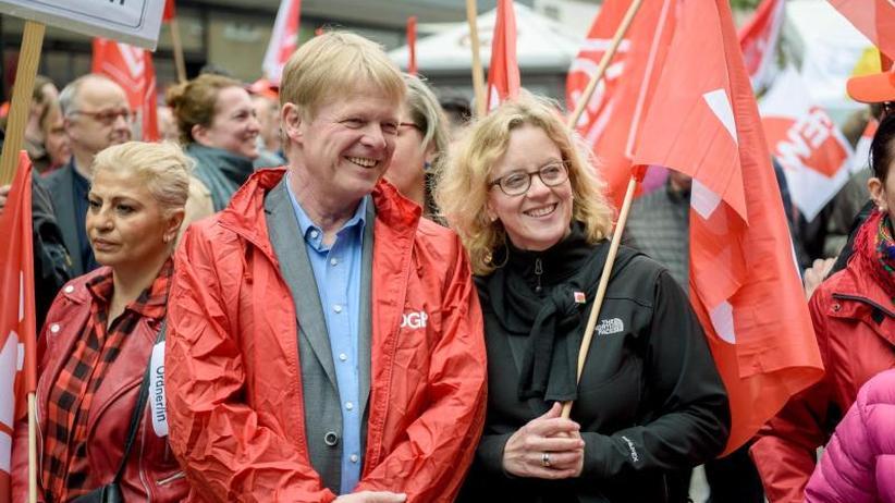 Kundgebung in Nürnberg: DGB für Stärkung der Tarifbindung