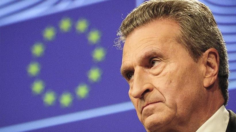 Oettingers EU-Budgetplan: Deutschland soll 12 Milliarden mehr in EU-Haushalt einzahlen
