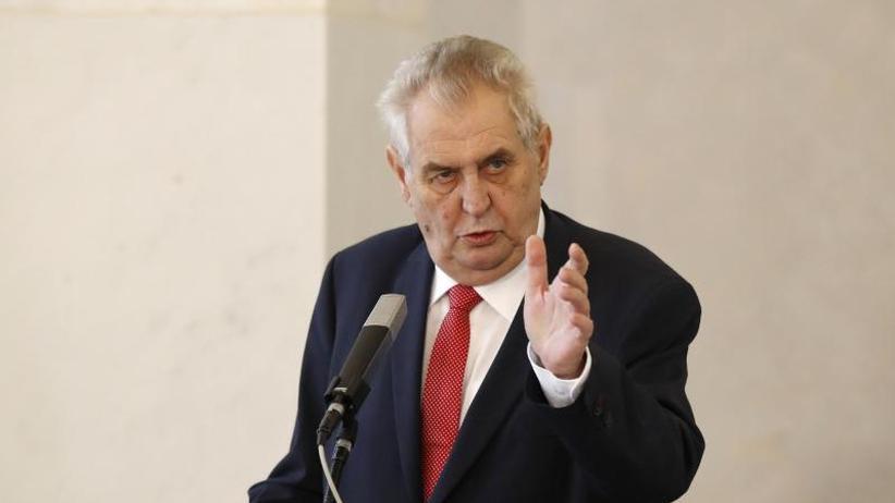 Präsident Zeman bestätigt: Auch Tschechien hat an Nowitschok geforscht
