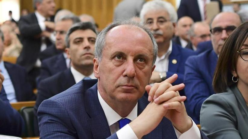 Türkische Präsidentenwahl: CHP-Abgeordneter Ince tritt gegen Erdogan an