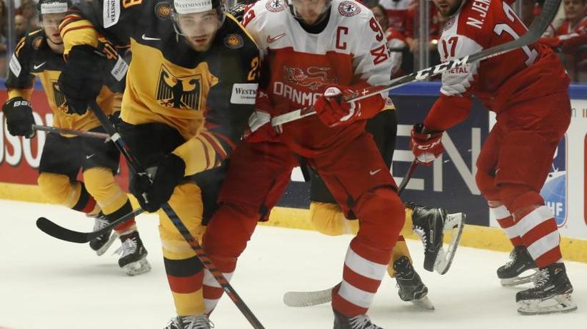 Eishockey-WM: Fehlstart nach Neuanfang:DEB-Team 2:3 gegen Dänemark