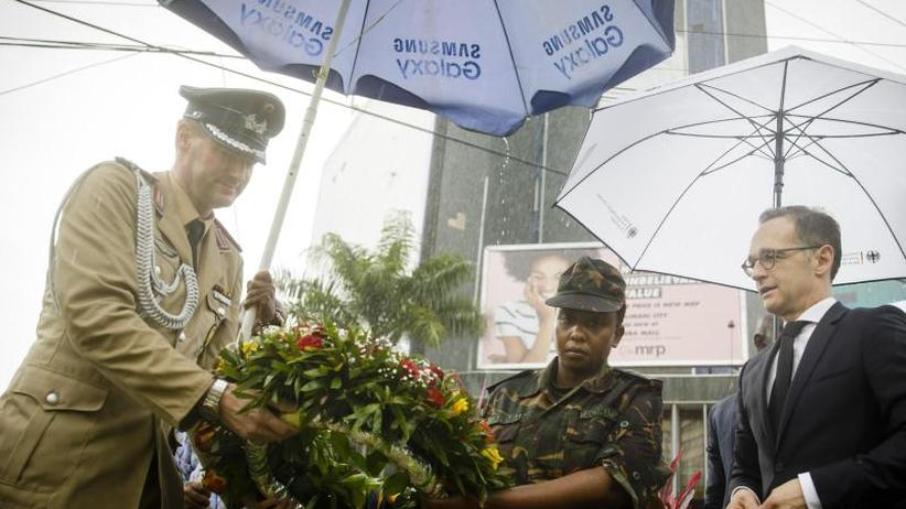 Besuch in Tansania: Maas gedenkt afrikanischer Opfer des Ersten Weltkriegs