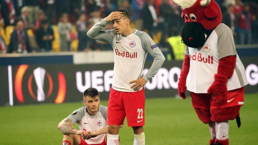 """Europa-League-Aus: Salzburger wütend: """"Jedes Spiel die gleiche Scheiße"""""""