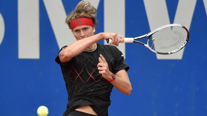 ATP-Turnier: Zverev gewinnt deutsches Duell in München gegen Struff