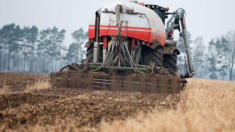 Keine Gefahr beim Trinkwasser: EU-Bericht: Deutsches Grundwasser stark mit Nitrat belastet