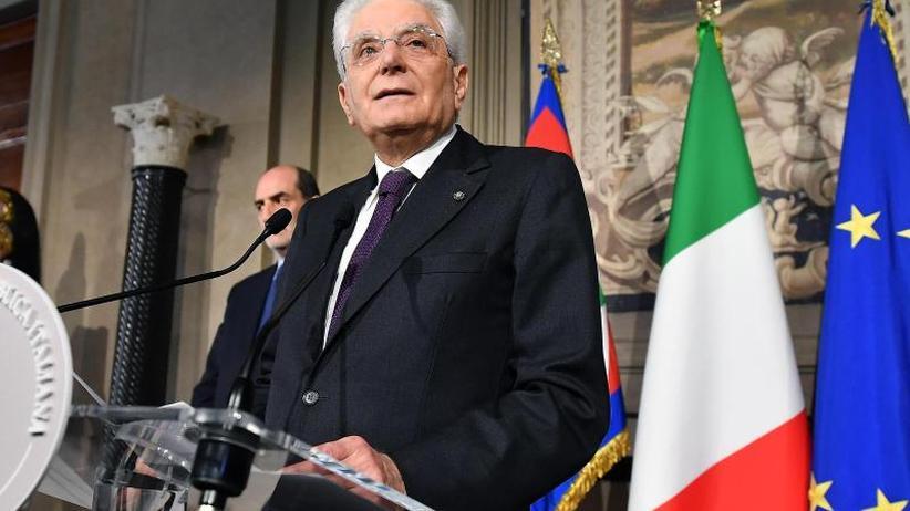 Neuwahl im Sommer?: Italiens Präsident auf der Suche nach Übergangsregierung