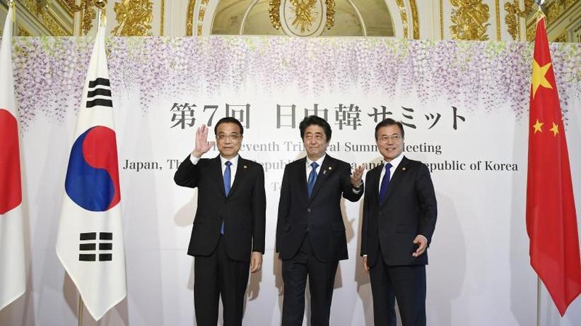Gipfeltreffen: Nordkorea-Krise: Japan, China und Südkorea kooperieren