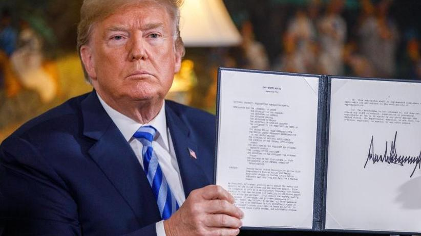 Trump macht Drohung wahr: US-Ausstieg aus Iran-Abkommen schürt Sorge vor Eskalation