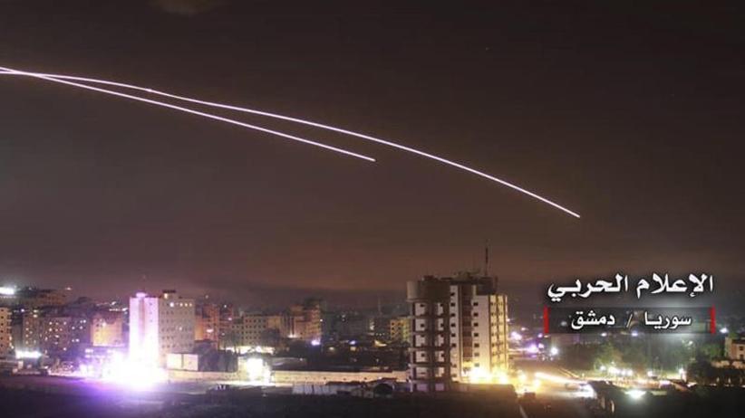 Nach Attacke auf Golan: Israel greift iranische Ziele in Syrien an