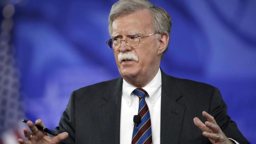 Trumps Sicherheitsberater: John Bolton: Machtwechsel im Iran ist nicht das Ziel