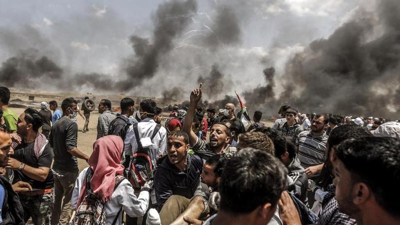 Blutiger Protest an der Grenze: Gewalt überschattet Eröffnung der US-Botschaft in Jerusalem